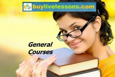 BUY 90 GENERAL LIVE LESSONS FOR 30 MINUTES EACH.