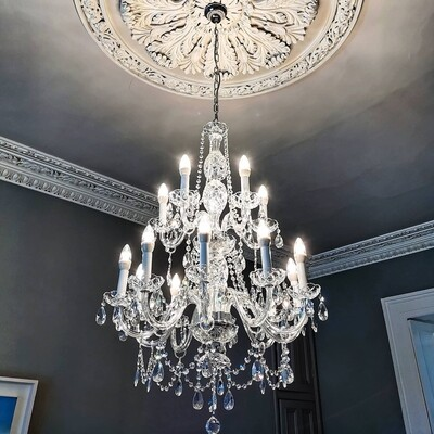 Emily 15 Arm Chandelier *PRE-ORDER*