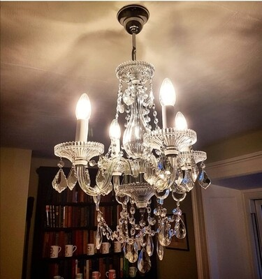 Classic 4 Arm Chandelier *PRE-ORDER*