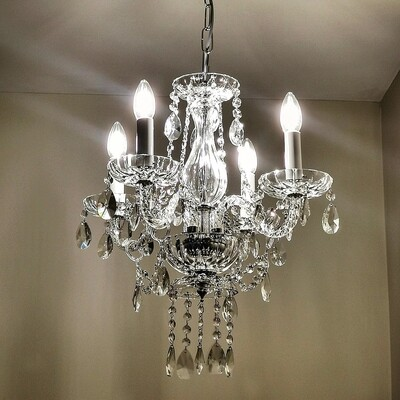 Shannon 4 Arm Chandelier