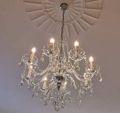 Shannon 8 Arm Chandelier