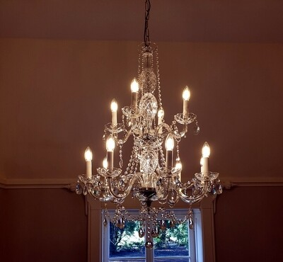 Emily 12 Arm Chandelier *PRE-ORDER*
