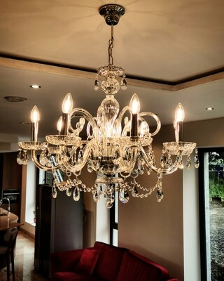Ciara 8 Arm Chandelier