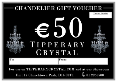 Tipperary Crystal Chandelier Gift Voucher