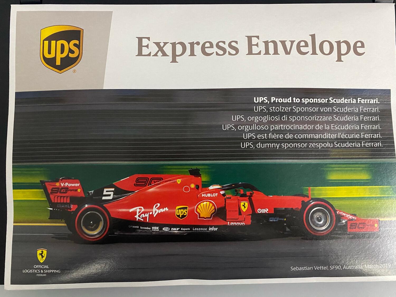 UPS Express Shipping for Levociraptor/ SL Module