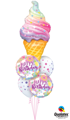 Unicorns & Ice Cream Birthday Bash