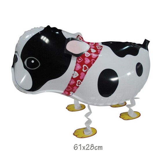Helium Walking Pet Animal Balloon Bulldog