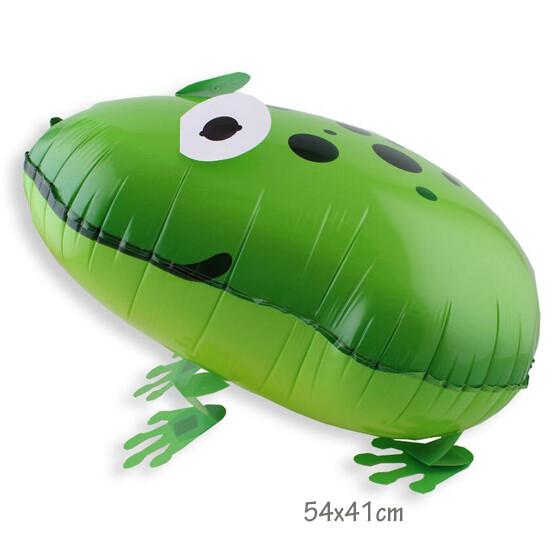 Helium Walking Pet Animal Balloon Frog