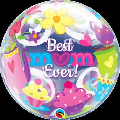 Best M(Heart)m Ever! Bubble Balloon