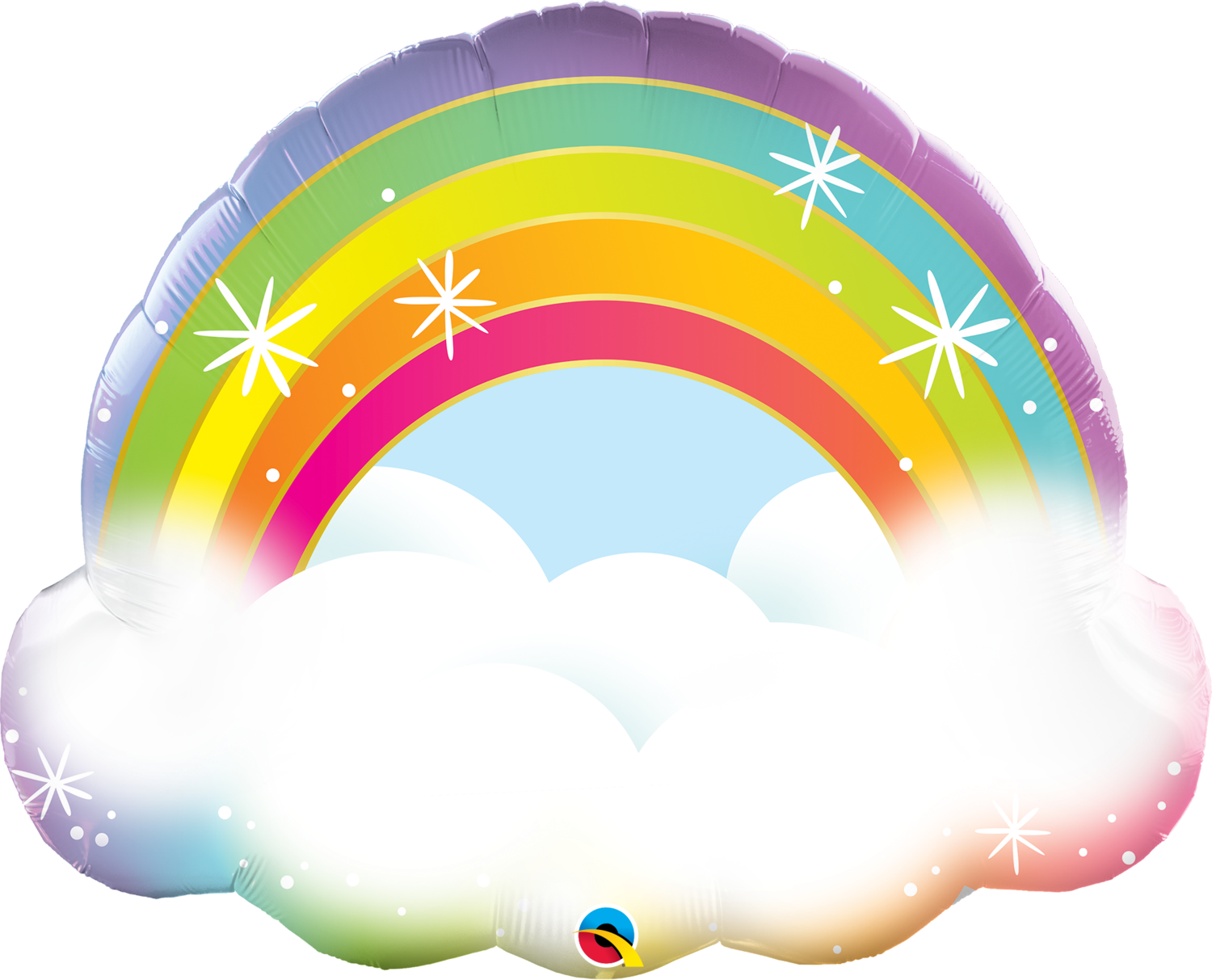 Qualatex Supershape Foil Balloon Rainbow 32''