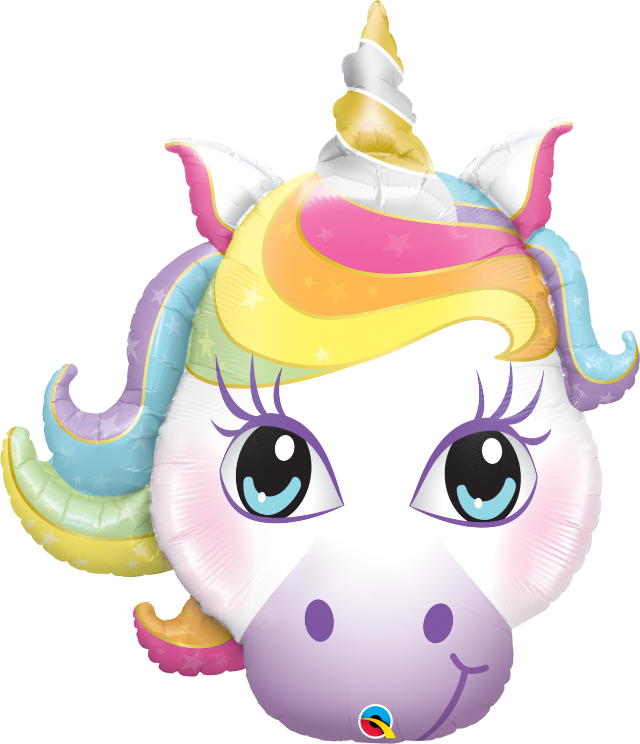 Qualatex Supershape Foil Balloon Magical Unicorn 38''