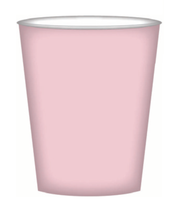 8pk Pink Paper Cups