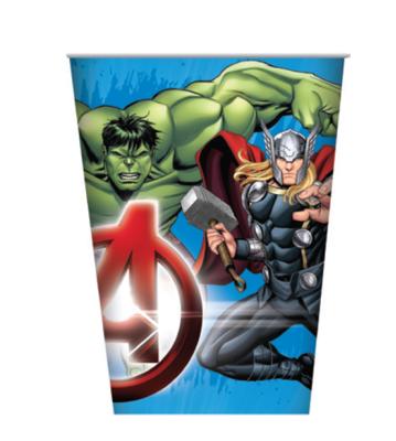 8pk Avengers Paper Cups
