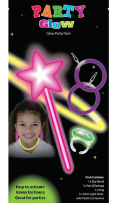 Girl Party Glow Packs