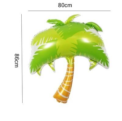 Hawaii Party Theme Palm Tree Foil Balloon