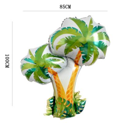 Hawaii Party Theme Coconut Tree Foil Balloon