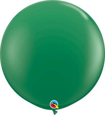 36 inch/90 cm Standard Green Latex Balloon