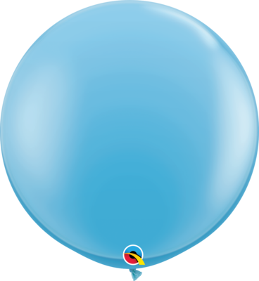 36 inch/90 cm Standard Pale Blue Latex Balloon