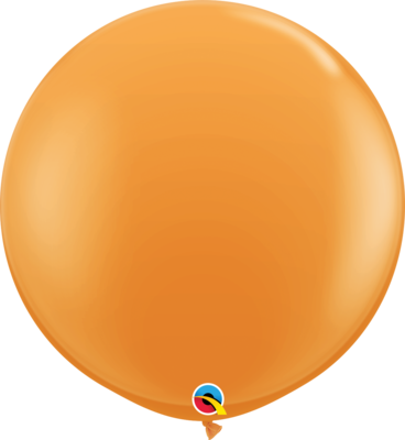 36 inch/90 cm Standard Orange Latex Balloon