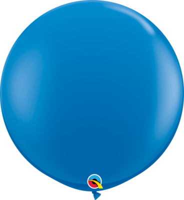 36 inch/90 cm Standard Dark Blue Latex Balloon