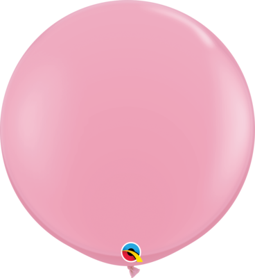 36 inch/90 cm Standard Pink Latex Balloon