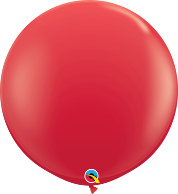 36 inch/90 cm Standard Red Latex Balloon