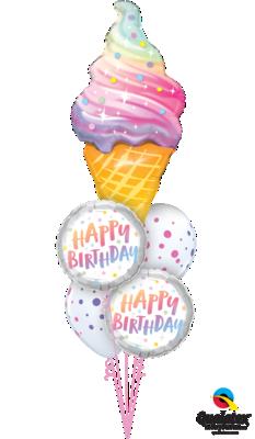 Delicious Giant Birthday Treat Balloon Bouquet
