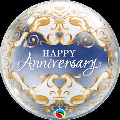 Anniversary Classic Bubble Balloon