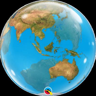 Planet Earth Bubble Balloon