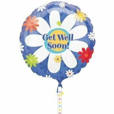 Sunny Get Well Soon Foil Balloon