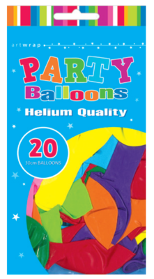 20pk 30 cm  Assorted Latex Balloon