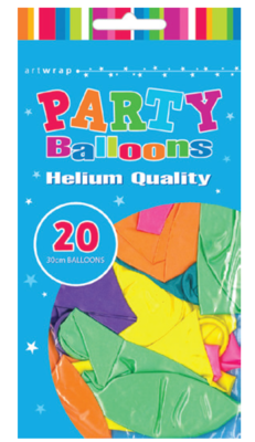 20pk 30 cm  Assorted Pearl Latex Balloon