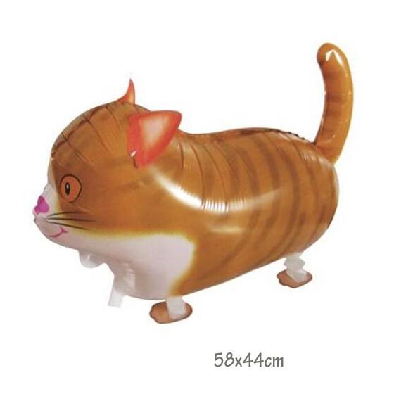 Helium Walking Pet Animal Balloon Cat