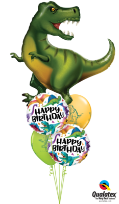 Have a DINO-RRIFIC Birthday!! Happy Birthday Balloon Bouquet