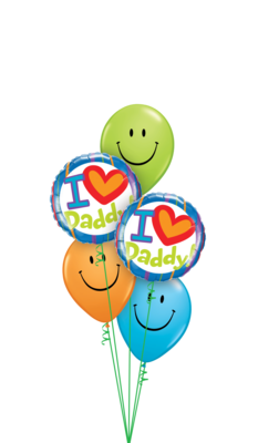 Smile Dad! Father's Day Balloon Bouquet