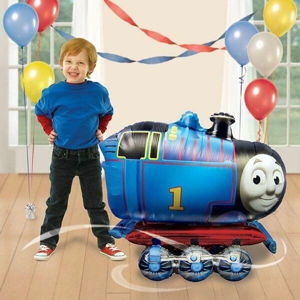 Thomas Theme Tank Air Walker Helium Balloon
