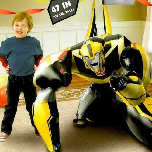 Transformers Bumble Bee Air Walker Helium Balloon