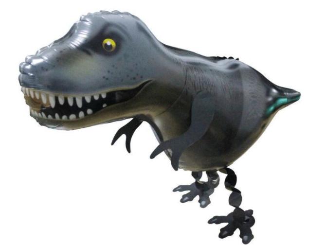 Helium Walking Pet Animal Balloon Dinosaur