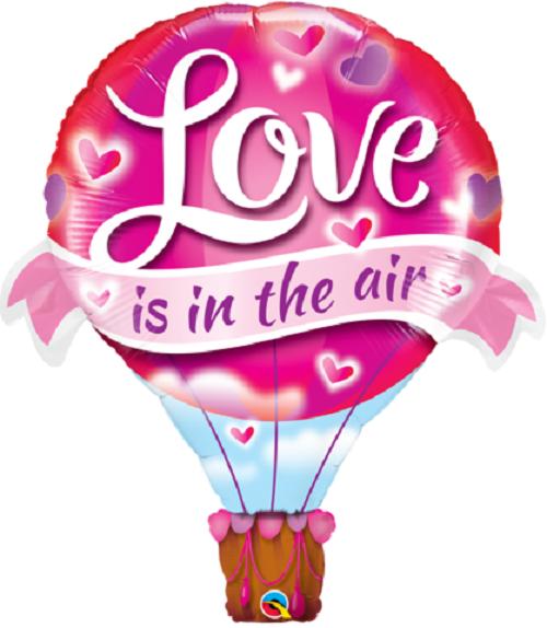 "Love is in the Air Balloon 42""/107 cm"