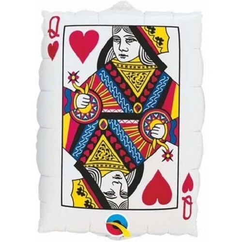"""Queen Of Hearts / Ace Of Spades 30"""" (76cm)"""