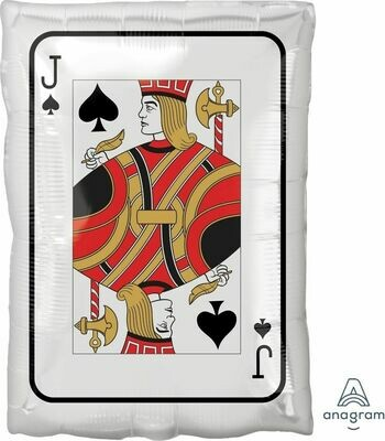 Jr Shape Roll the Dice Jack and Queen (30cm x 43cm)