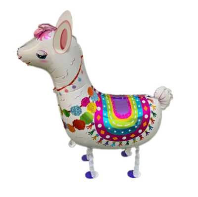 Helium Walking Pet Animal Balloon Llama