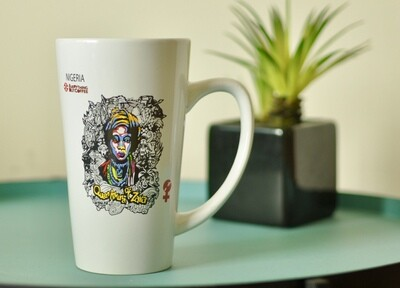 White Queen Amina Of Zaria mug 16oz.