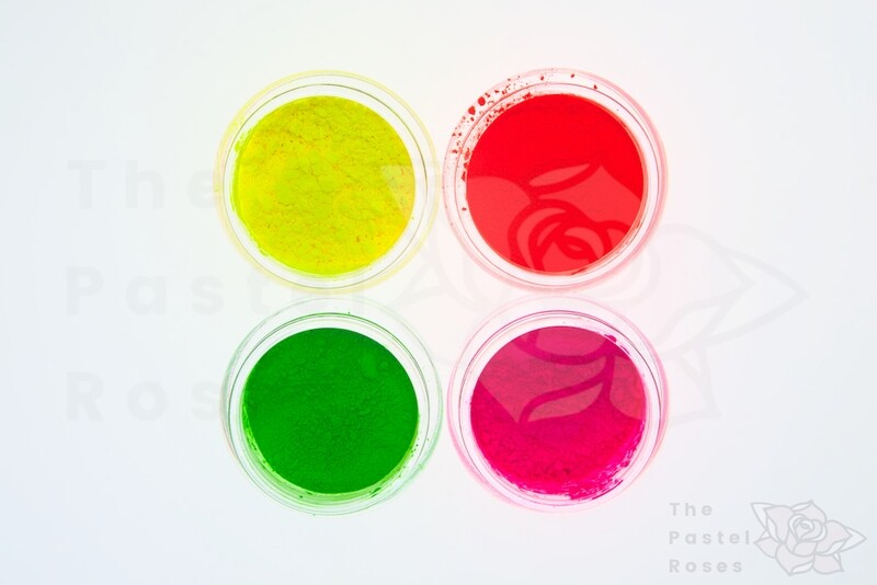 Small Neon Loose Pigment Bundle