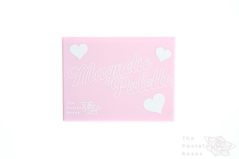 Magnetic Palette With Mirror - Small - Pastel Pink