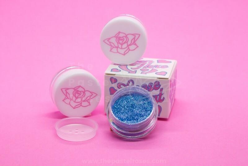 Glitter Loose Eyeshadow - Light Sky
