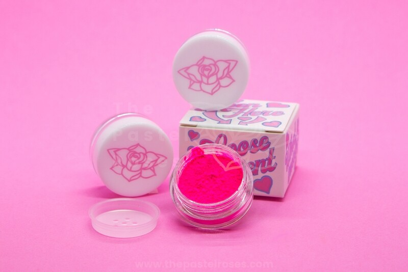Neon Loose Pigment - Synth Pink