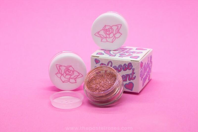 Glitter Loose Eyeshadow - Sour Cherry