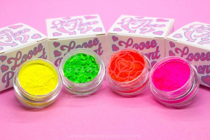 Small Neon Loose Pigment Bundle