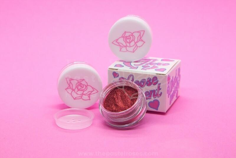 Loose Eyeshadow Pigment - Cinnabar Rose